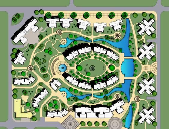 修规居住区快题设计